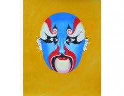 Obraz - Modrá maska