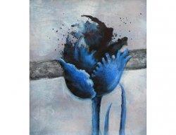 Obraz - Modrá růže