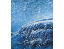 Obraz - Modrá záplava