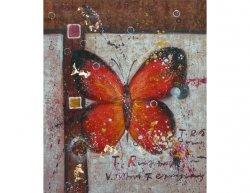Obraz - Motýl na zdi