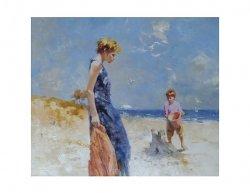 Obraz - Na pláži