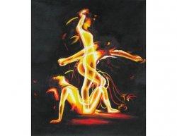 Obraz - Ohnivý lidé