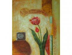 Obraz - Osamělý tulipán