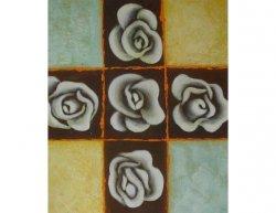 Obraz - Pět květů růže