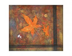 Obraz - Podzimní list