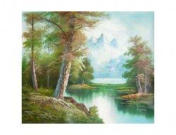 Obraz - Řeka v lese