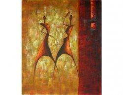 Obraz - Rituální tanec