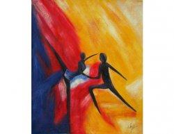 Obraz - Scénický tanec
