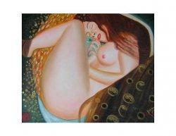 Obraz- Schoulená nahá žena