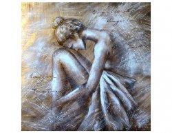 Obraz - sedící baletka