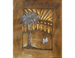 Obraz - Strom ozářen sluncem