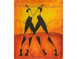 Obraz - Tanec ve dvou