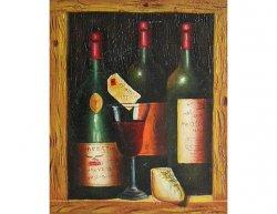 Obraz - Vinné láhve
