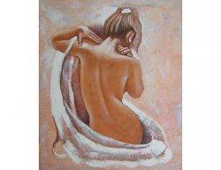 Obraz - Žena otočená zády