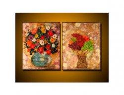 Obrazový set - Květiny a ovoce