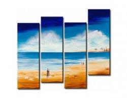 Obrazový set - Na pláži u moře