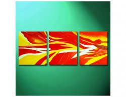 Obrazový set - Ohnivý vítr