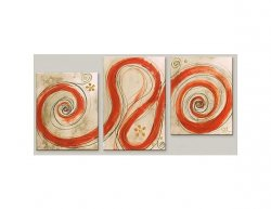 Obrazový set - Oranžové mámení