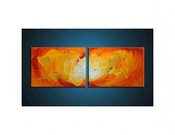Obrazový set - Oranžovění