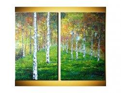 Obrazový set - Pod stromy