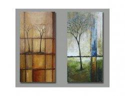 Obrazový set - Podzim vs jaro