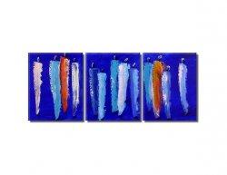 Obrazový set - Postavy v modré