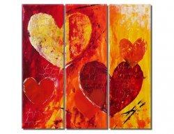 Obrazový set - Srdce
