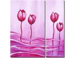 Obrazový set - Tulipány ve vánku