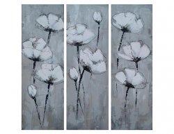 Obrazový set - Vysoké květy