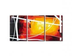 Obrazový set - Zamřížované slunce