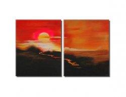 Obrazový set - Západ slunce