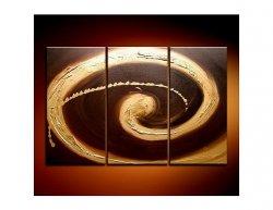 Obrazový set - Zlaté kruhy