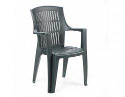 Plastová zahradní židle Arpa zelená
