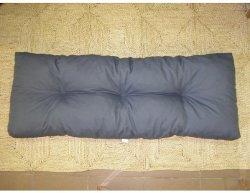 Šedý polstr na paletový nábytek K43, 120x40 cm