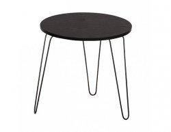 Příruční stolek RONIN, černý dub / černá