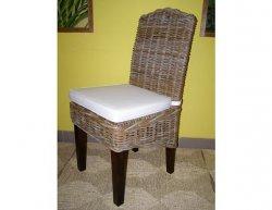 Ratanová jídelní židle Corina-světlá