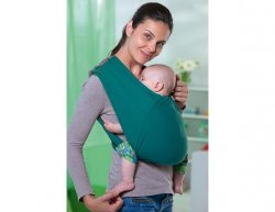 Šátek na nošení dětí Carry Baby Petrol