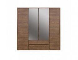 Skříň Monti 4D2S se zrcadlem