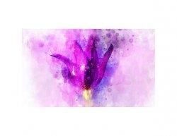 Tištěný obraz - Abstraktní květ