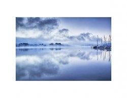Tištěný obraz - Jezero