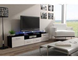 TV stolek Evora černý