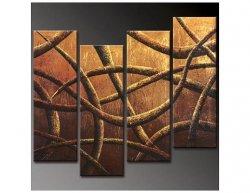 Vícedílné obrazy - Abstraktní čáry