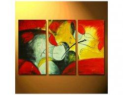 Vícedílné obrazy - Abstraktní lidé
