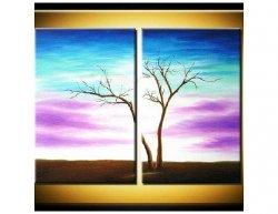 Vícedílné obrazy - Holý strom