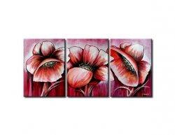 Vícedílné obrazy - Květinový set