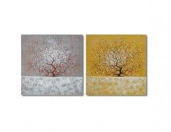 Vícedílné obrazy - Plodící stromy