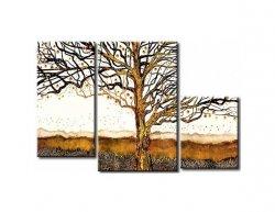 Vícedílné obrazy - Starý strom