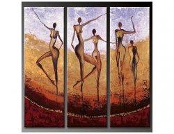 Vícedílné obrazy - Tanec