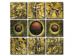 Vícedílné obrazy - Tři slunce