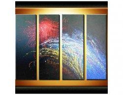 Vícedílné obrazy - Vesmír